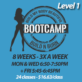 4 SPOTS LEFT! Mon, Jun 3 to Mon, Jul 29* (8 weeks - 3x a week - 24 classes)