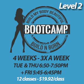 2 SPOTS LEFT! Tue, Feb 4 to Fri, Feb 28 (4 weeks 3x a week - 12 classes)