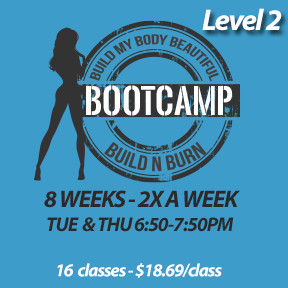 Tue, Apr 30 to Thur, Jun 27* (8 weeks - 2x a week - 16 classes)