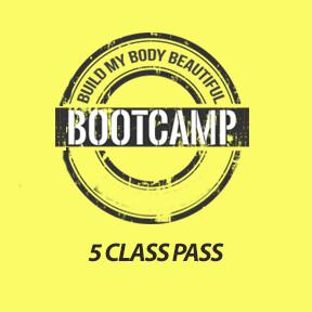 5 Class Flex Bootcamp Pass