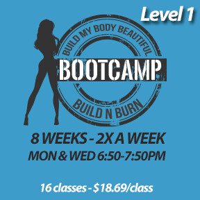 2 SPOTS LEFT! Mon, Feb 3 to Wed, Mar 25  (8 weeks - 2x a week - 16 classes)