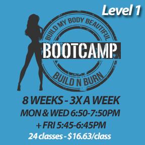 2 SPOTS LEFT! Mon, Feb 3 to Fri, Mar 27 (8 weeks - 3x a week - 24 classes)