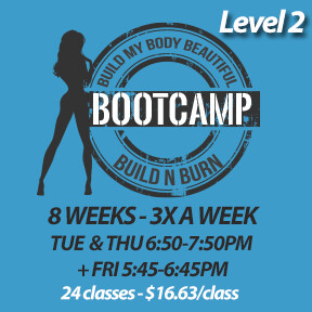 2 SPOTS LEFT! Tue, Feb 4 to Fri, Mar 27 (8 weeks - 3x a week - 24 classes)