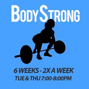 Tue, Mar 3 to Thu, Apr 8 (6 weeks - 2x a week - 12 classes)