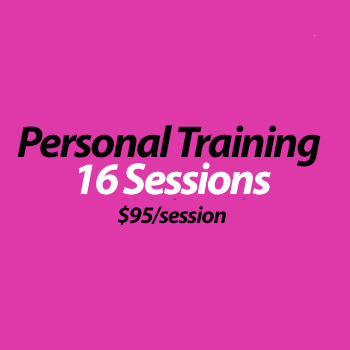 Personal Training (in studio) - 16 Sessions