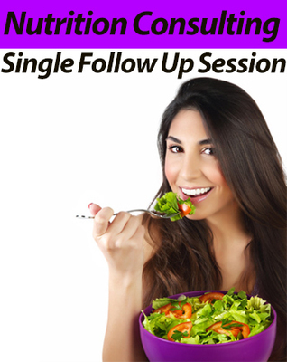 Single Follow-Up Session with Registered Dietitian