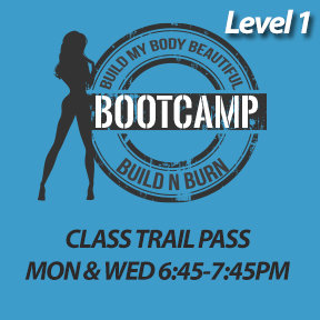 Build & Burn Beginner Class Trail (one class - new clients only)