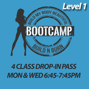 4 CLASS PASS: Mon, Apr 29 to Mon, May 27
