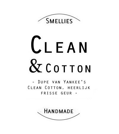 SmellieSticks - Clean & Cotton