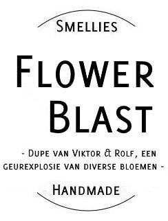 Ecogeurkaars - Flowerblast Groot