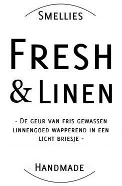Ecogeurkaars - Fresh & Linen Groot
