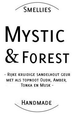 Ecogeurkaars - Mystic & Forest Klein