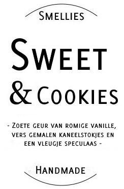 Ecogeurkaars - Sweet & Cookies Groot