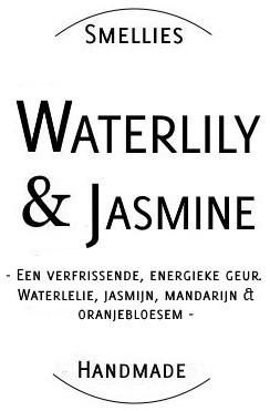 Ecogeurkaars - Waterlily & Jasmine Groot