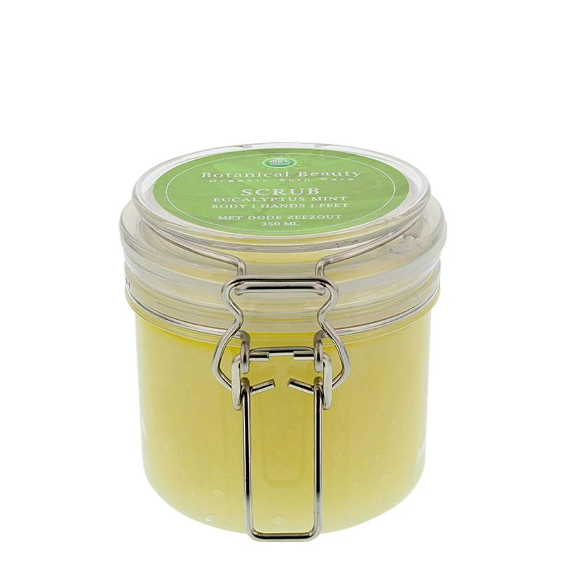 Body Scrub Eucalyptus-Mint-Rozemarijn 125 ml