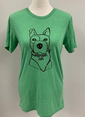 Avocado Woofstock Shirt Small