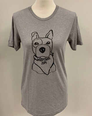 Gray Woofstock Shirt Small