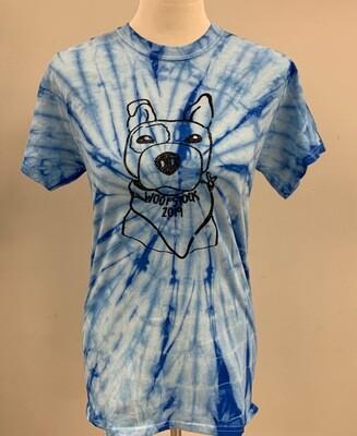 Tie Die Woofstock Shirt Extra Large