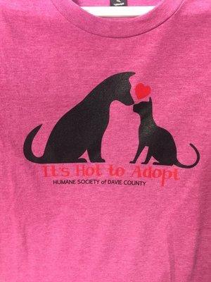 Its Hot 2 Adopt T-shirt