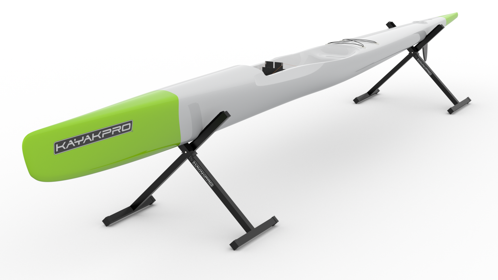 Kayak Stands Tall  (60 cm--24 inches)