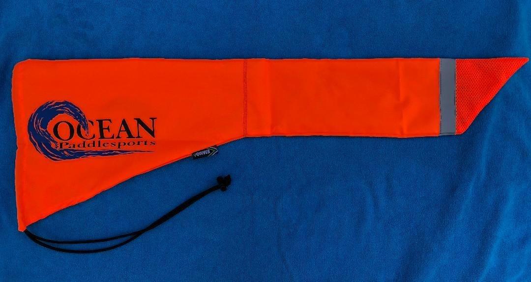 Orange Tail Flag