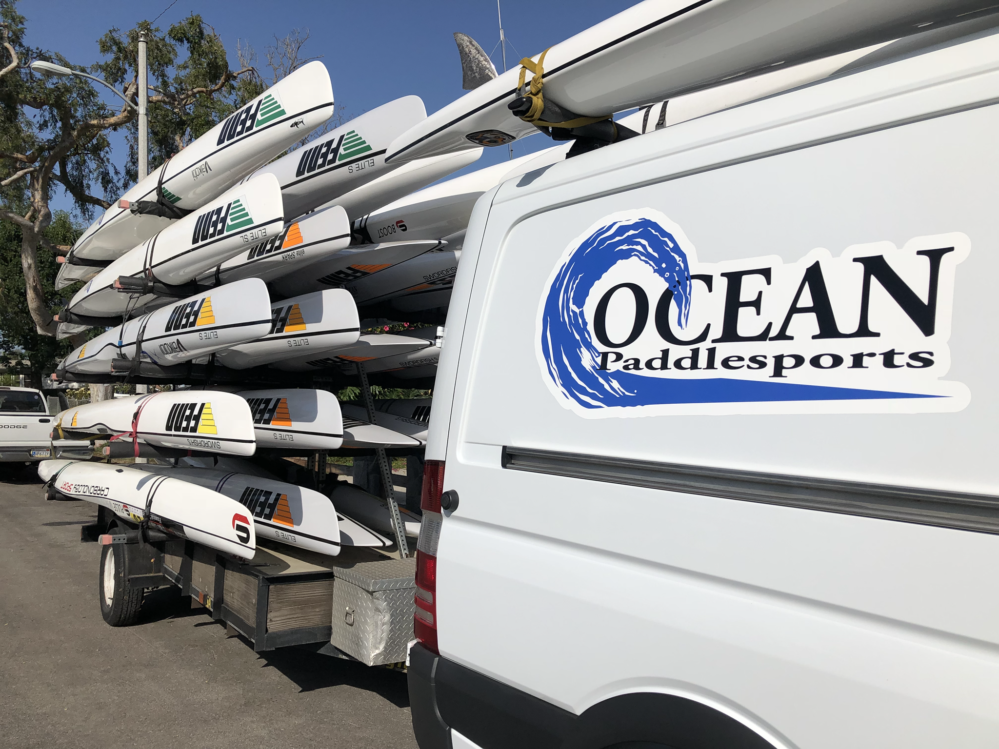 Ocean Paddlesports sticker