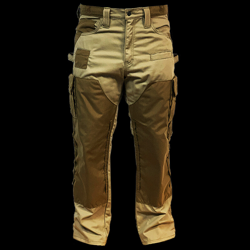 Full Force Mens Trousers with 7 Pockets and 7 Sewn-In Pads
