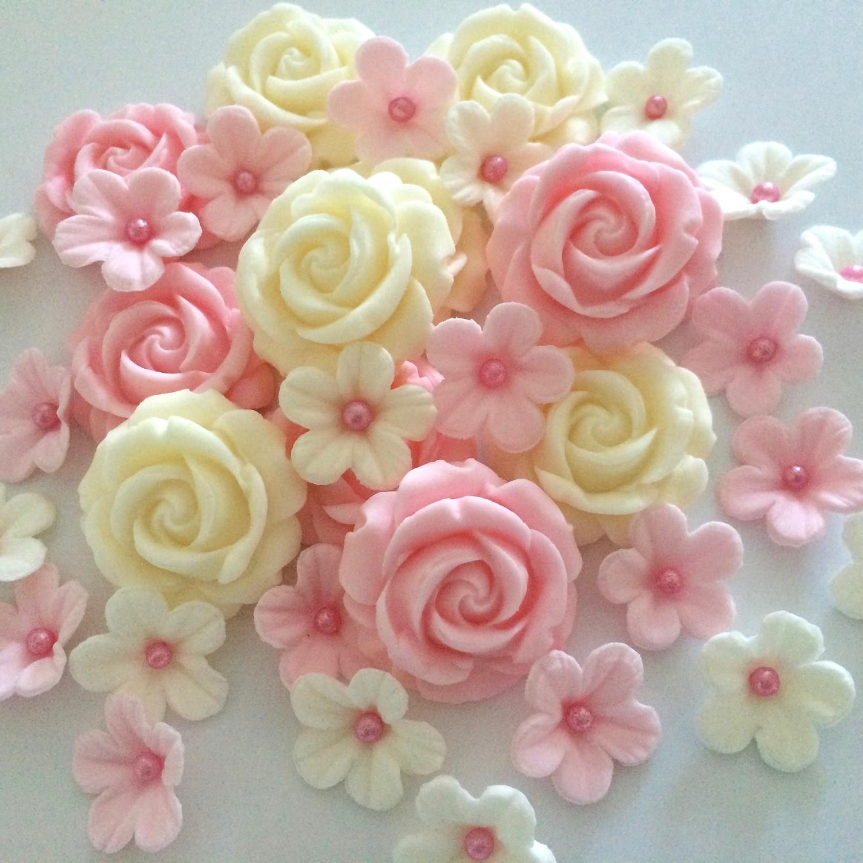 Pink Cream Roses