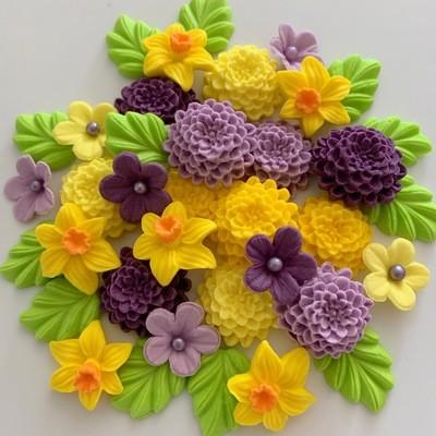 Chrysanthemums & Daffodils