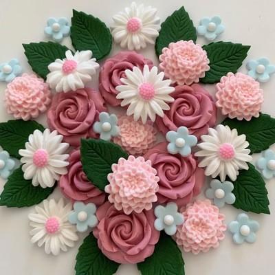 Dusky Pink Flower Bouquet