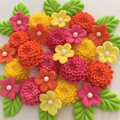 Bright Chrysanthemums