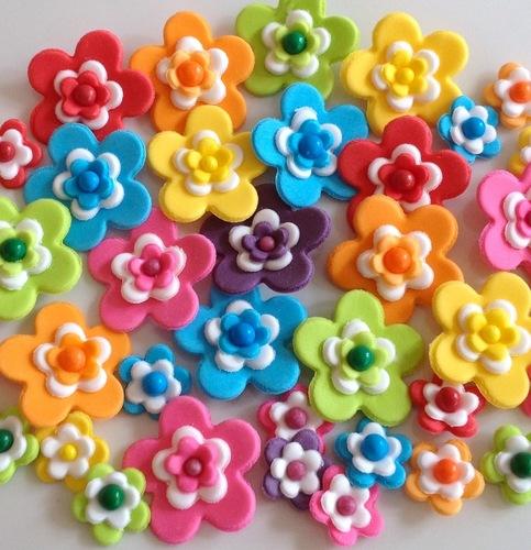 Carnival Sugar Flowers