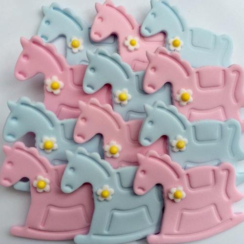 Baby Rocking Sugar Horses