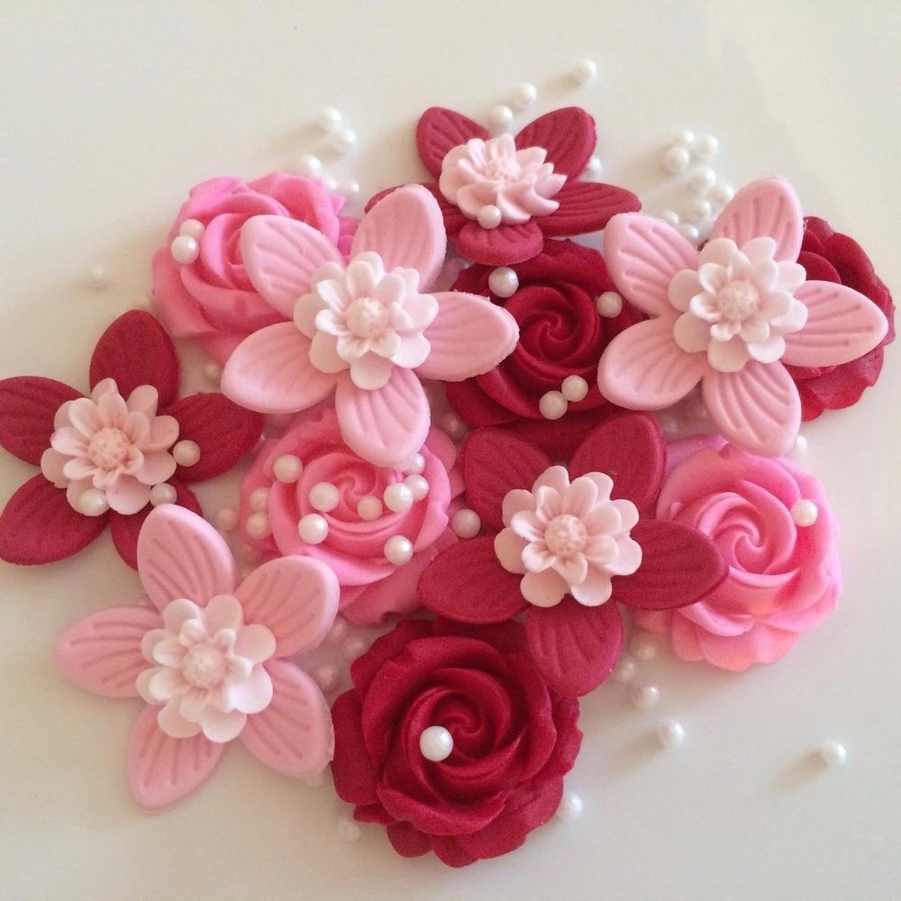 Ruby Blush Flowers