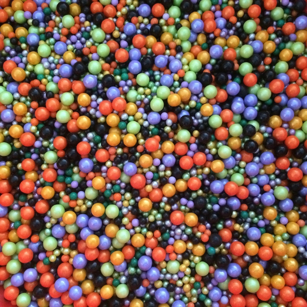 Halloween Sugar Balls