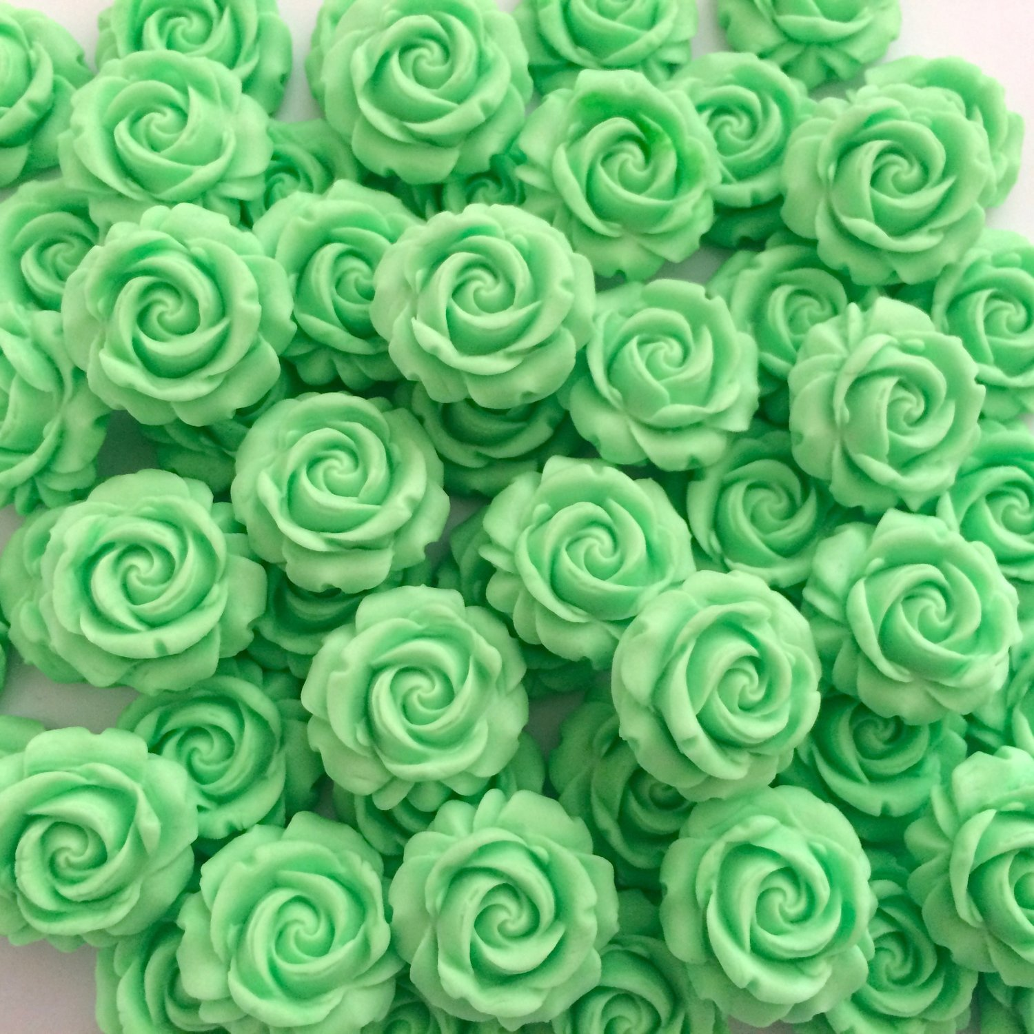 Mint Green Sugar Roses