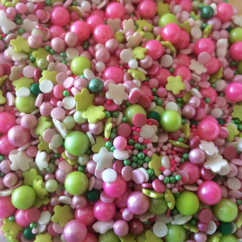 Sweet Pink Sprinkles