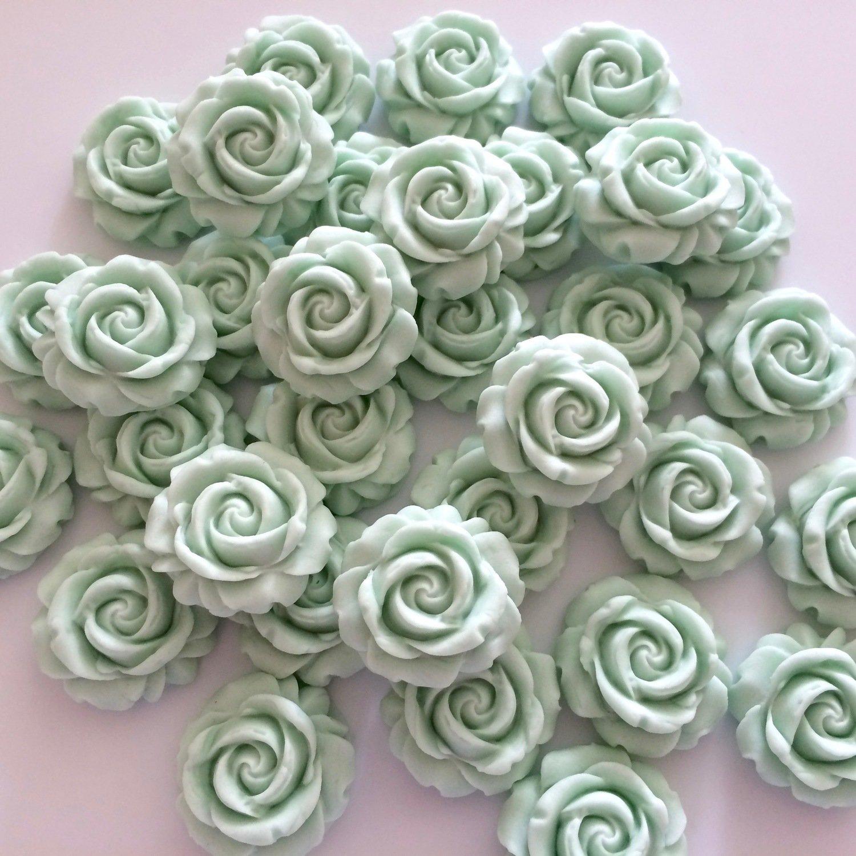 Eau de Nil Sugar Roses
