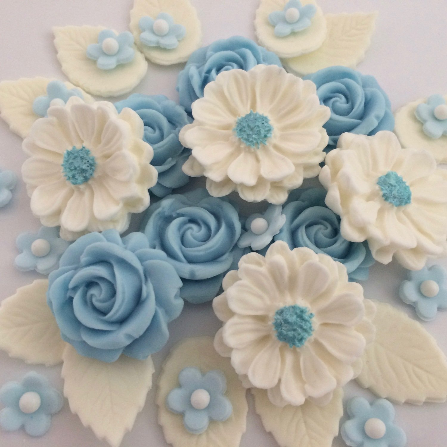 Baby Blue Rose Bouquet