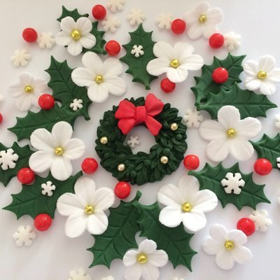 Christmas Wreath Bouquet