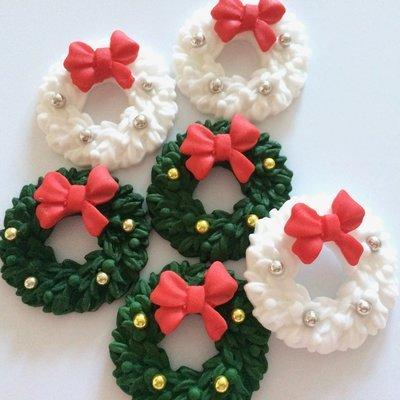 Mixed Christmas Wreaths
