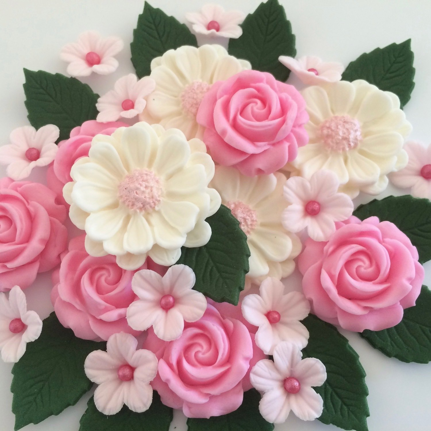 Candy Pink Rose Bouquet