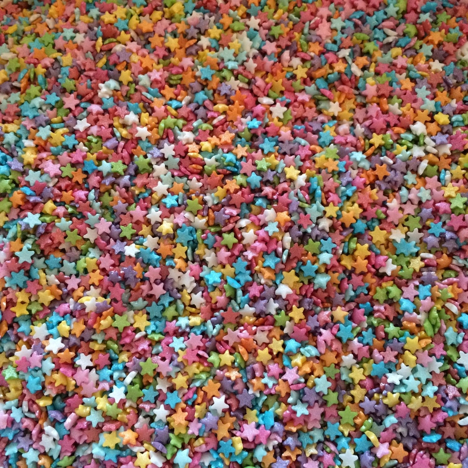 Mini Sugar Star Sprinkles