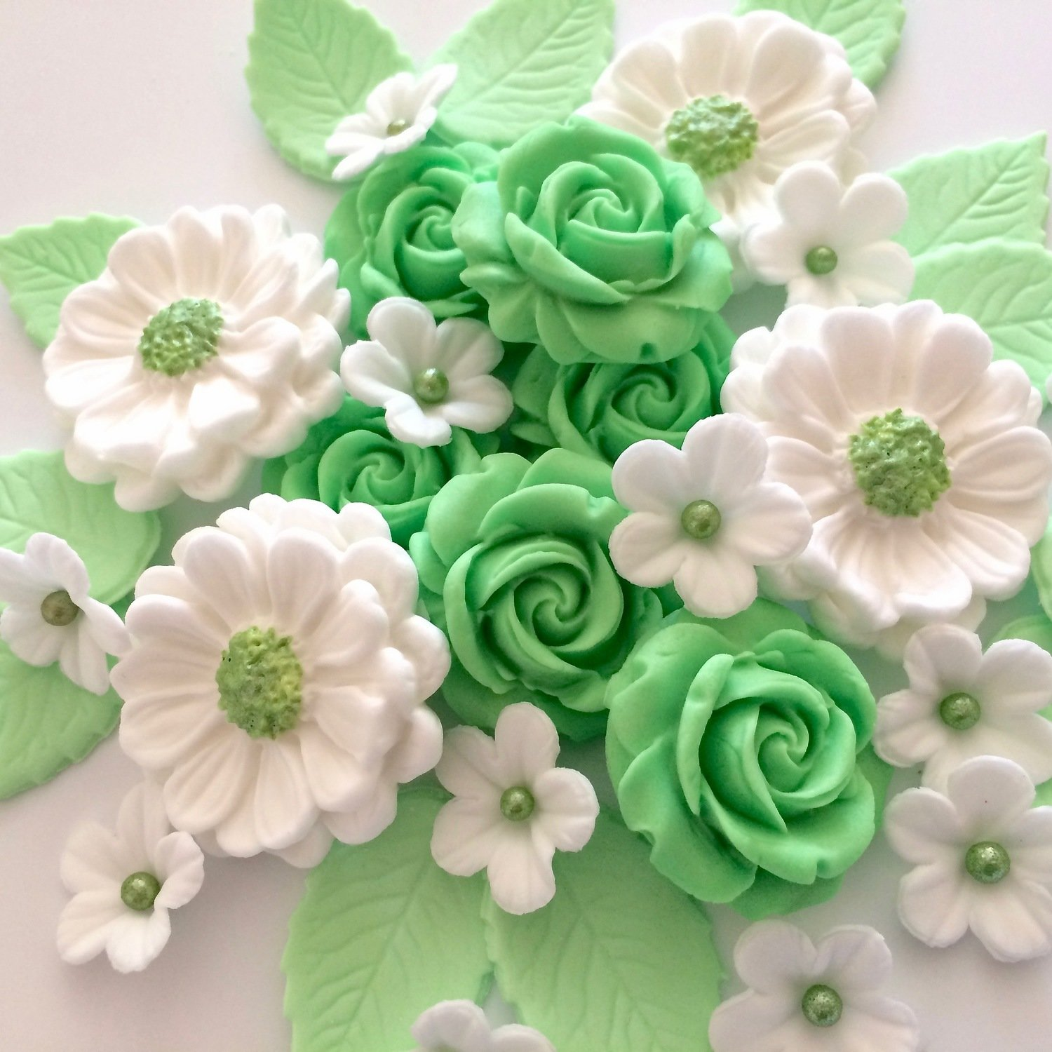 Mint Green Rose Bouquet