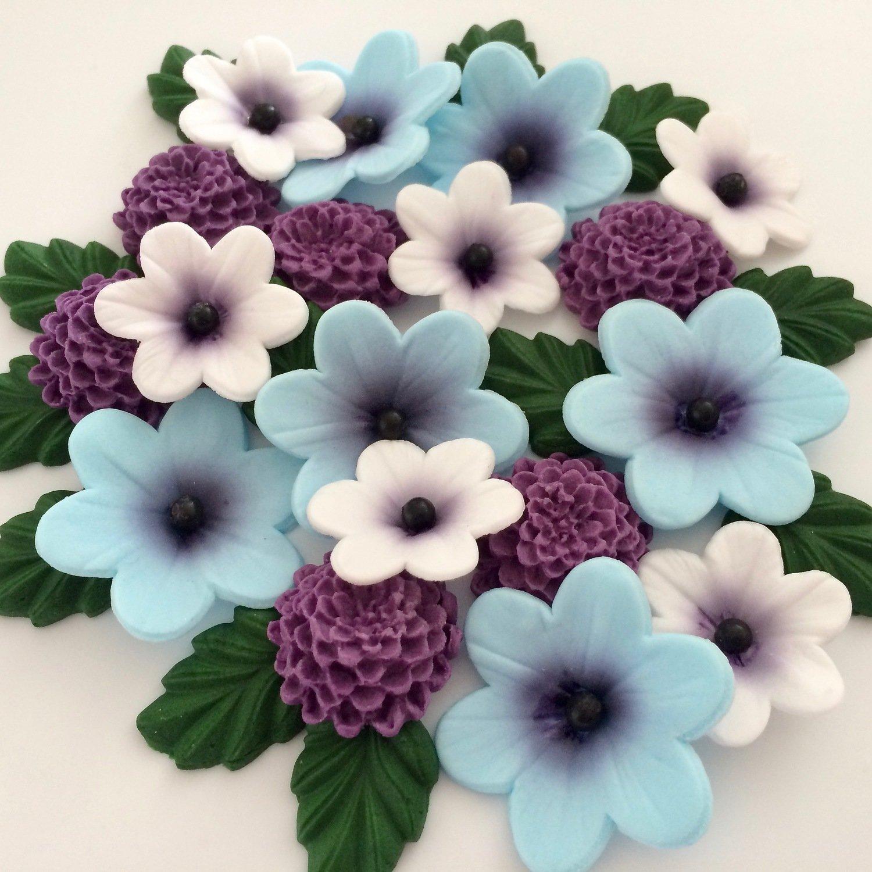 Summer Violet Flowers