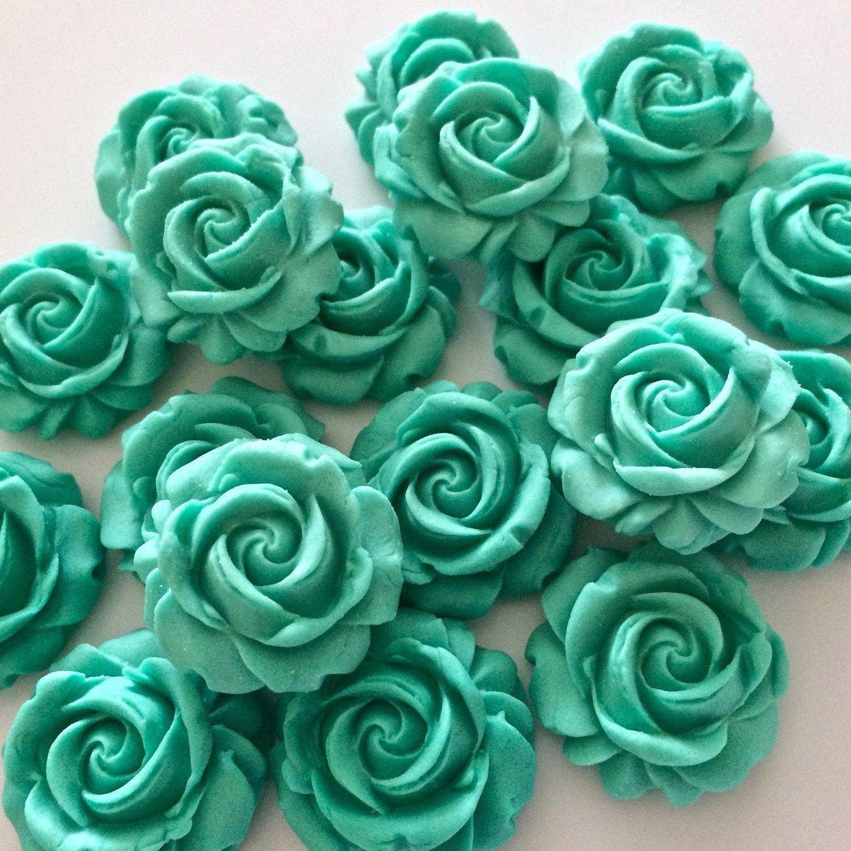 Jade Green Sugar Roses