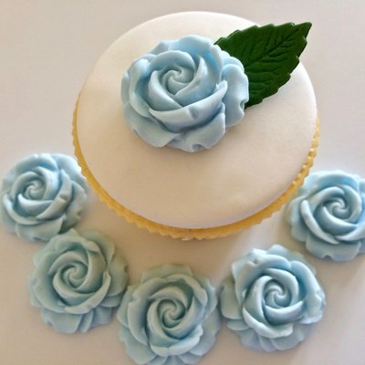 Pale Blue Roses
