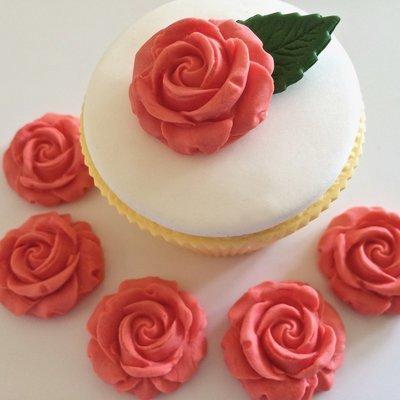 Peach Sugar Roses