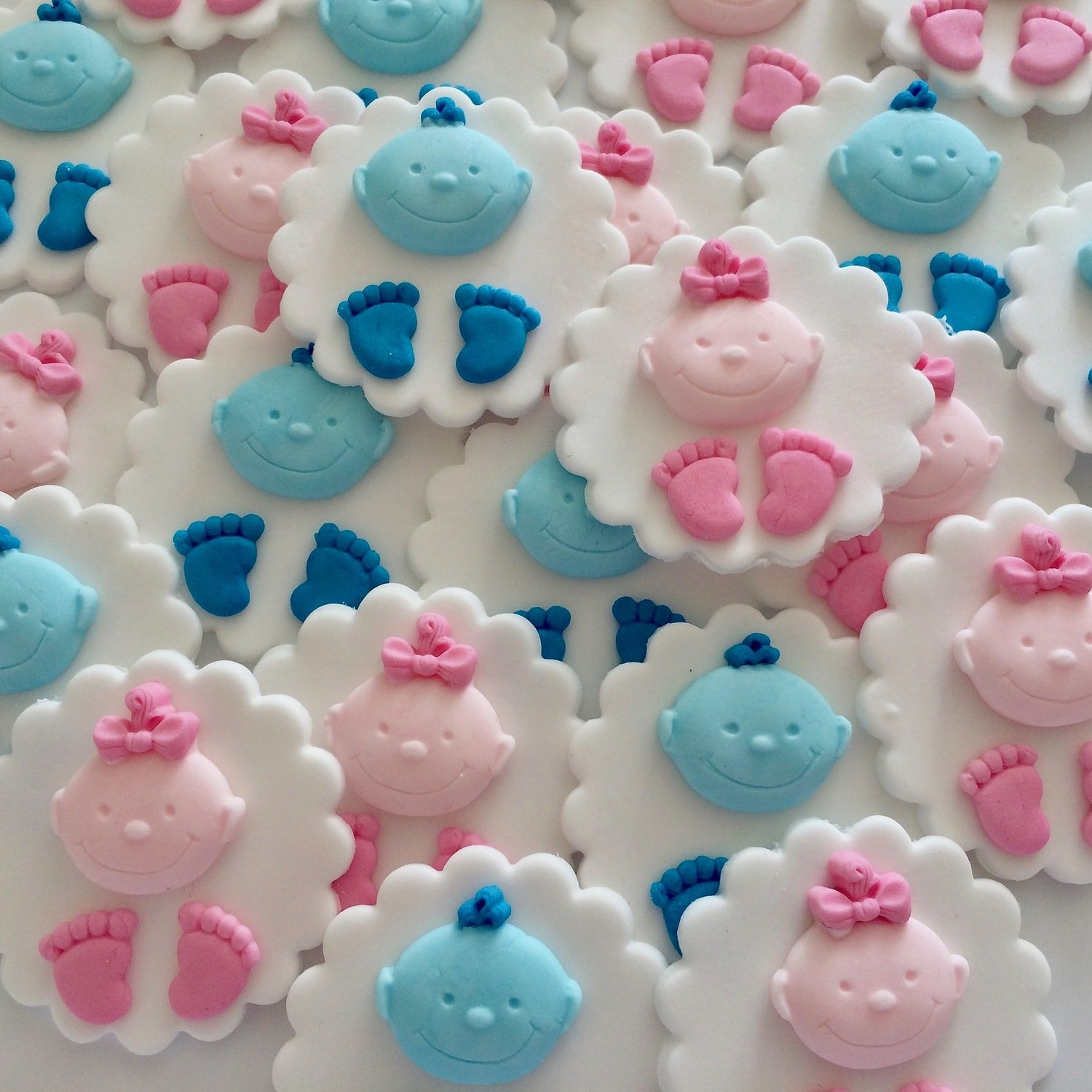 Christening Cupcake Toppers