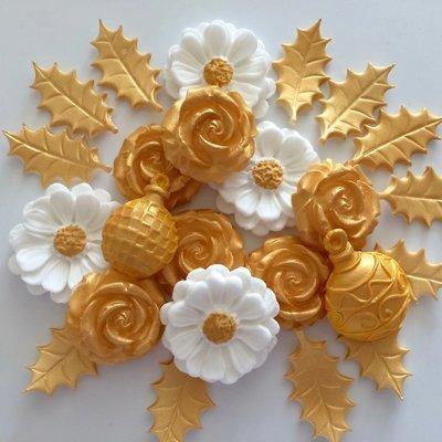 Gold Christmas Bouquet